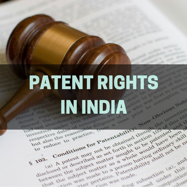 Patent Rights in India