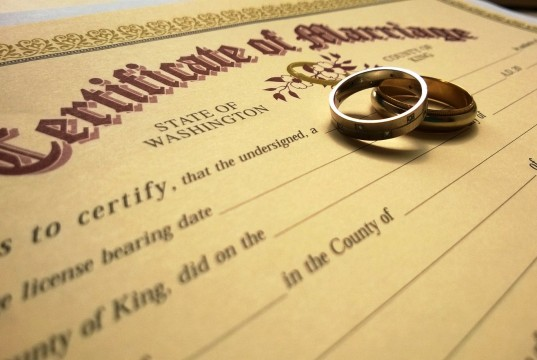 Registration of Court Marriage