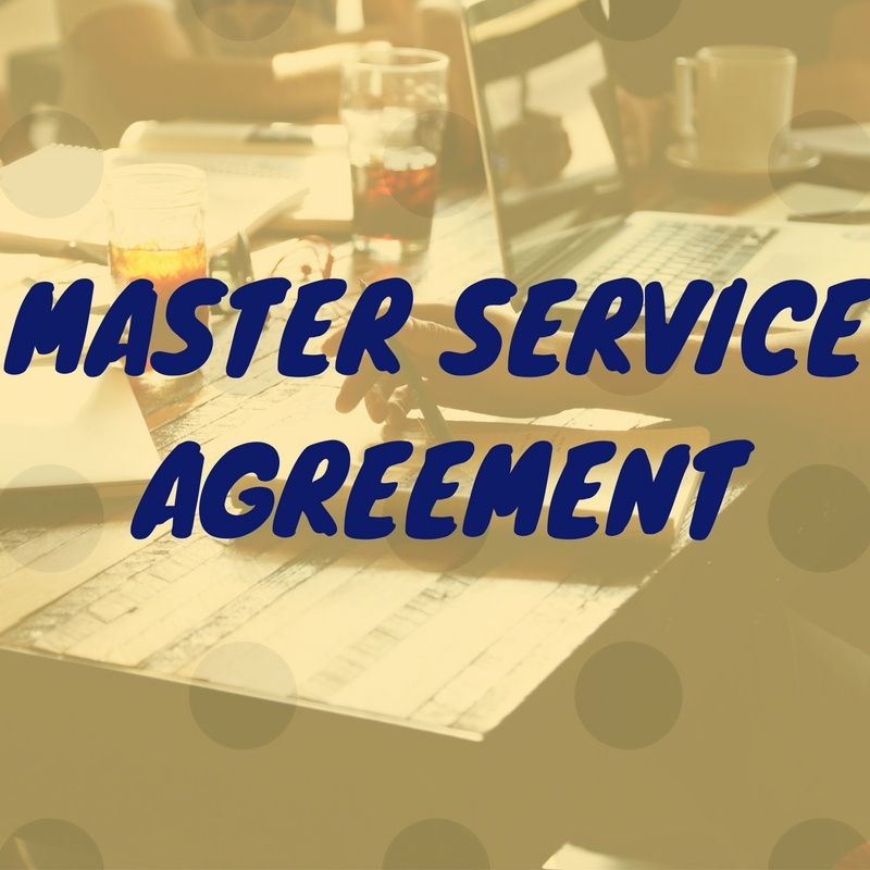 Master Service Agreement For Startups Aapka Consultant