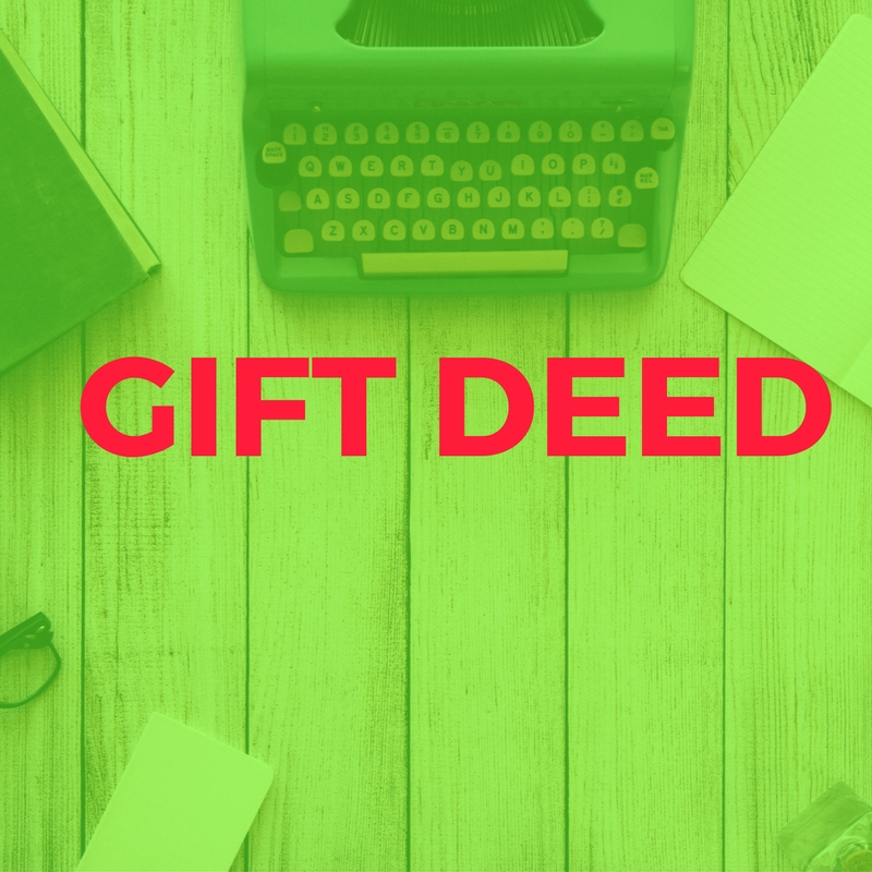 GIFT DEED | Aapka Consultant