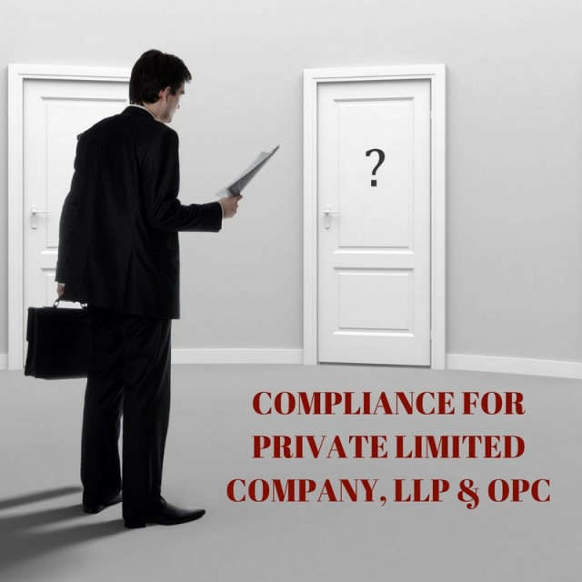 COMPLIANCES FOR COMPANY