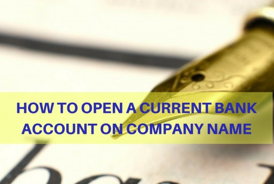 Current Bank Account