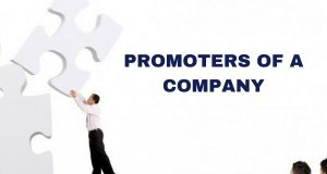 Promoters of a Company