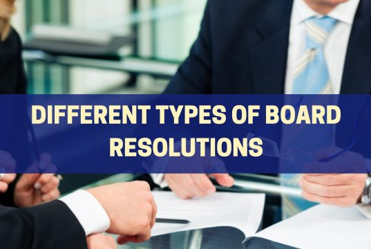 Board Resolutions