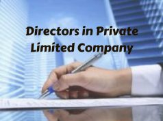 Directors in Private Limited Company