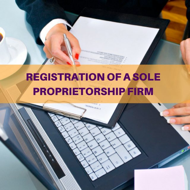 SOLE PROPRIETORSHIP FIRM