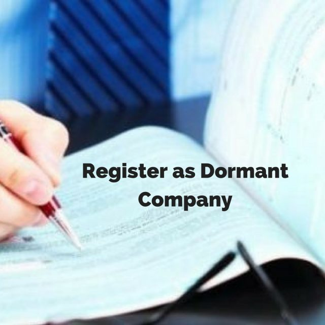 How to Register as a Dormant Company?