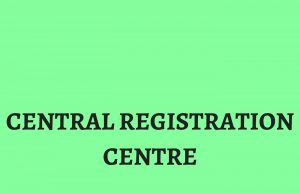 All about Central Registration Centre
