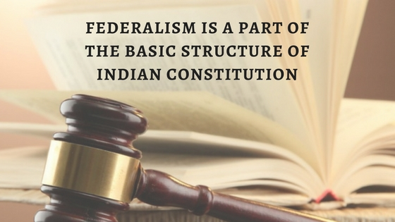 federation of indian constitution