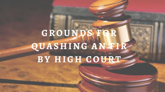 quashing petition under section 482