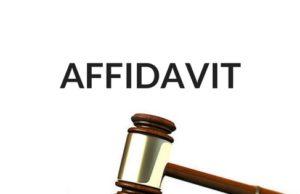 How to Draft the Affidavit?