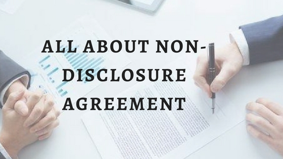 Non Disclosure Agreement Format For E Commerce Startups Aapka