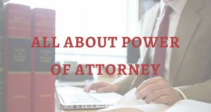 ALL ABOUT POWER OF ATTORNEY