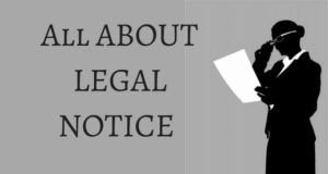 All ABOUT LEGAL NOTICE