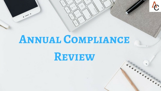 Annual Compliance Review