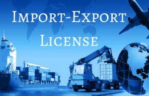 Import-Export License