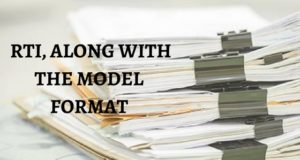 RTI along with Model Draft