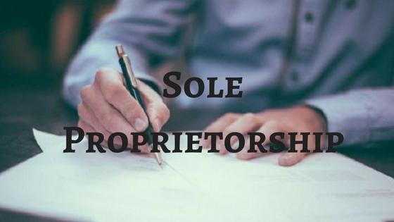 How To Register Under Sole Proprietorship?