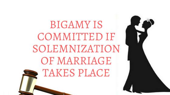 bigamy ipc