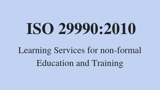 Learning Services for non-formal Education and Training