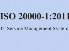 ISO 20000-1:2011 IT Service Management System