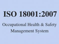 ISO 18001:2007 Occupational Health & Safety Management System