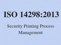 ISO 14298:2013 - Security Printing Process Management