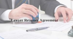 Model Format of Lawyer Retainer Agreement
