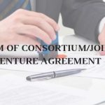Model Format of Form of Consortium/Joint Venture Agreement