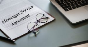 Model Format of Messenger Service Agreement