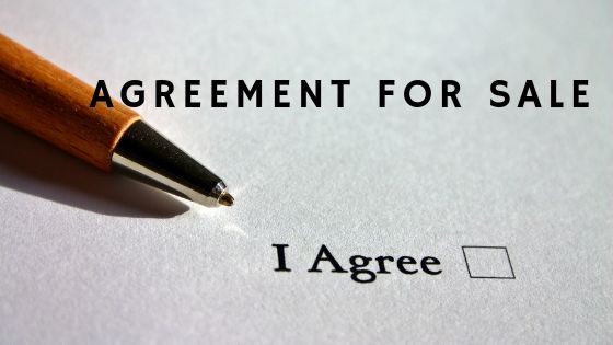 Agreement For Sale