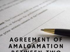 Agreement of Amalgamation between Two Companies