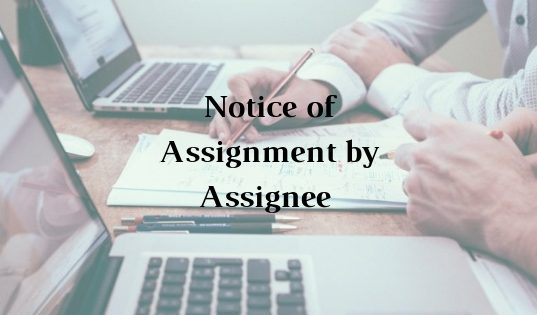 Assignment of Debt