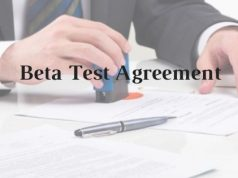 Beta Test Agreement