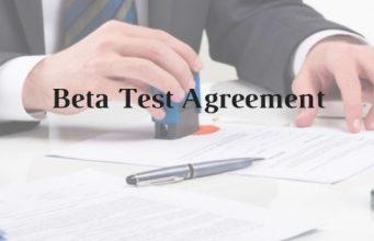Beta Test Agreement