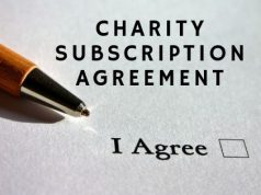 Charity Subscription Agreement