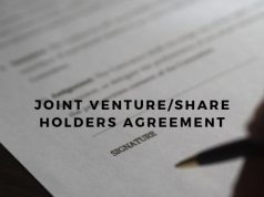Joint Venture/Share Holders Agreement