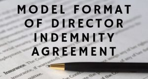 Model Format of Director Indemnity Agreement