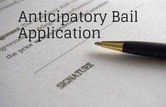 Anticipatory Bail Application