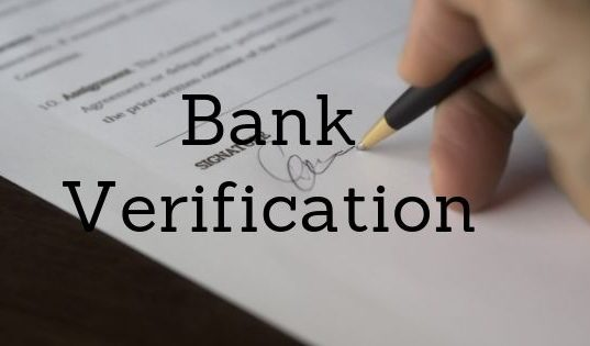 Bank Verification