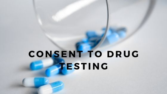Consent to Drug Testing
