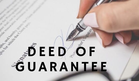Deed of Guarantee