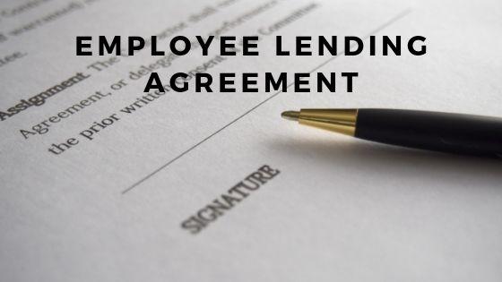 Employee Lending Agreement Employee Lending Agreement