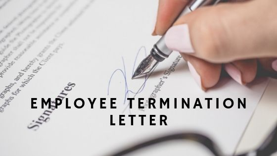 Employee Termination LetterEmployee Termination Letter