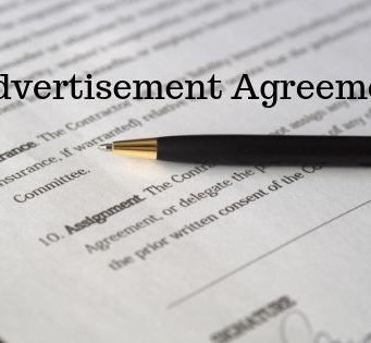 Advertisement Agreement