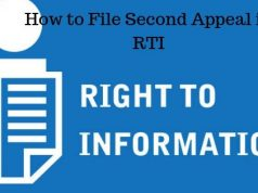 How to File Second Appeal in RTI