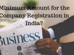 Minimum Amount for the Company Registration in India_