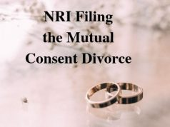 NRI Filing the Mutual Consent Divorce
