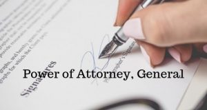 Power of Attorney, General