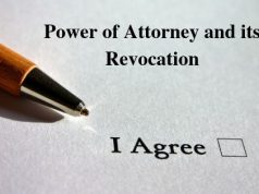 Power of Attorney and its Revocation